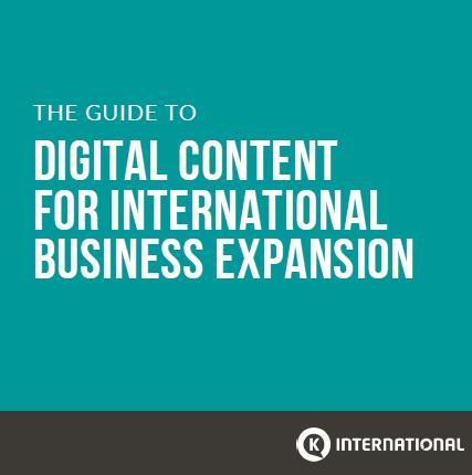 Digital Content for International Expansion